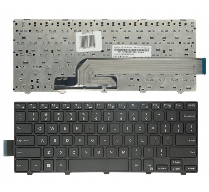 Keyboard DELL Inspiron 14: 3000, 3441, 3442, 3446, 3447, 3449, 3451, 3458