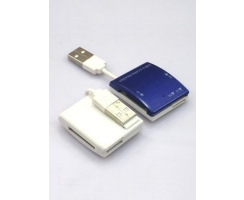 Card reader ExD (4 slots) with cable: MS, SD, M2, TF
