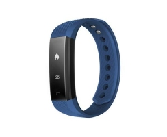 Heart rate monitor smartband, blue