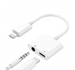iPhone Lightning to 3.5 mm Headphone Jack Adapter (double)